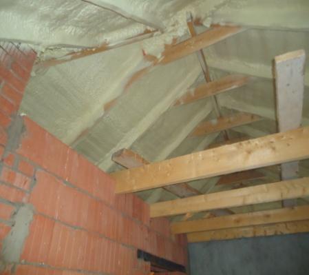 Isolation toit terrasse par l intérieur